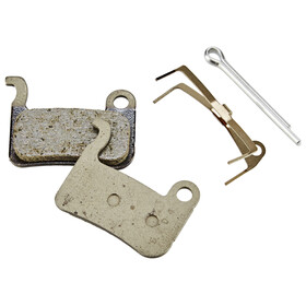 Shimano A01S Brake Pads resin with spring beige/grey